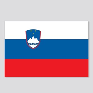 Slovenia Flag Postcards (Package of 8)