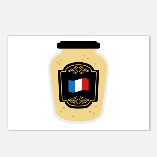 Dijon Mustard Postcards (Package of 8)