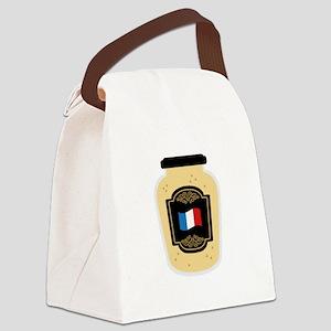 Dijon Mustard Canvas Lunch Bag