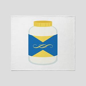 Mayonnaise Jar Throw Blanket