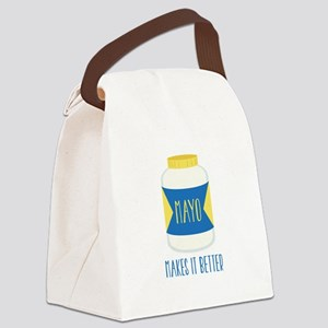 Makes It Better Canvas Lunch Bag