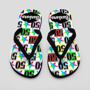 50th Super Star Flip Flops