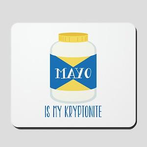 Mayo Kryptonite Mousepad