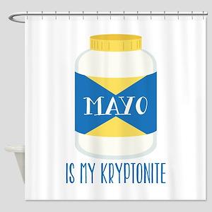 Mayo Kryptonite Shower Curtain