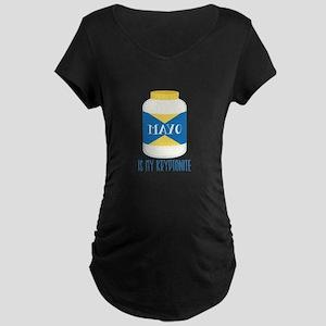 Mayo Kryptonite Maternity T-Shirt