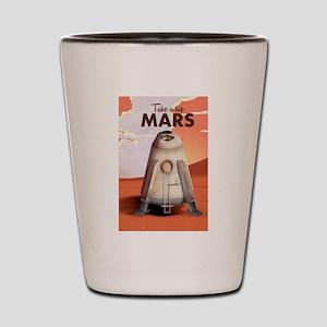 Take a Trip to Mars Shot Glass