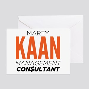 Marty Kaan Management Consultant Greeting Cards