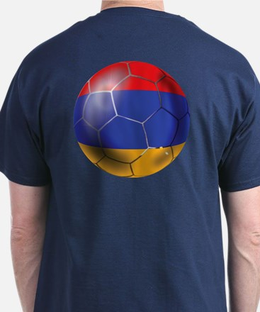Armenia Soccer Ball T-Shirt