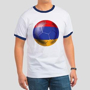 Armenia Soccer Ball Ringer T