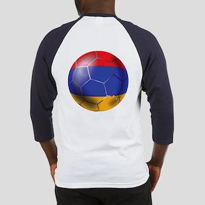 Armenia Soccer Ball Baseball Jersey