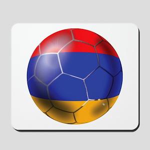 Armenia Soccer Ball Mousepad