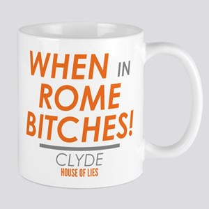 When In Rome House Of Lies Mugs