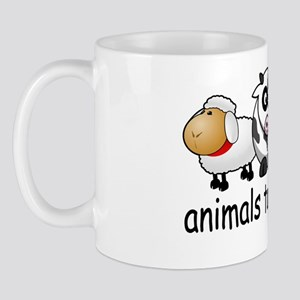 Animals Taste Good. Meat Eaters Design Mug