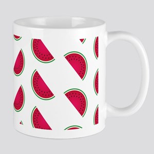 Rows of Watermelon Slices Mugs