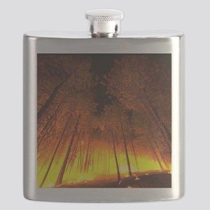 Forest Fire Flask
