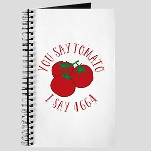 You Say Tomato I Say 4664 Journal