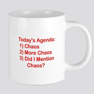 Today's Agenda: Chaos Mugs
