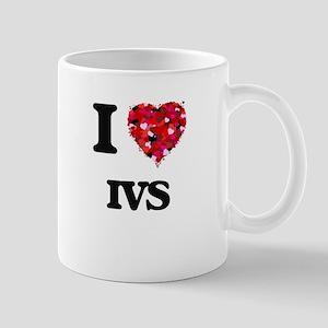 I Love Ivs Mugs