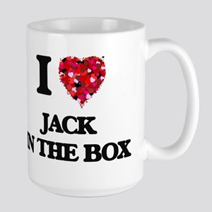 I Love Jack In The Box Mugs