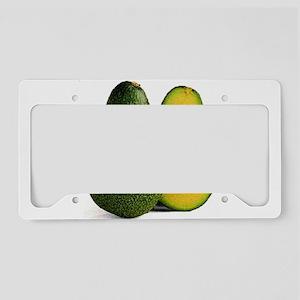 Avocado License Plate Holder