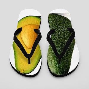 Avocado Flip Flops