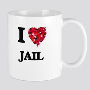 I Love Jail Mugs