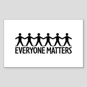 Everyone Matters Sticker