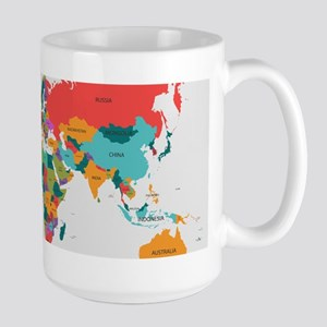 World map gifts cafepress world map with the name of the countries mugs gumiabroncs Gallery