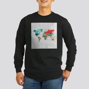 World Map With the Name of The Countries Long Slee