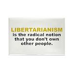 Libertarian Rectangle Magnet (100 pack)