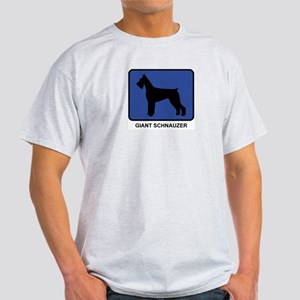 Giant Schnauzer (blue) Light T-Shirt