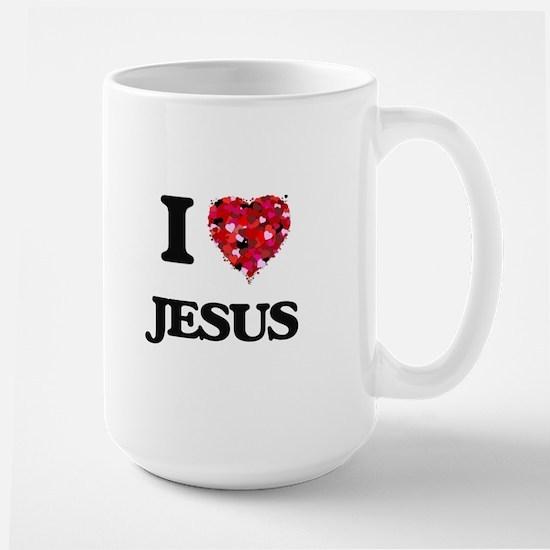 I Love Jesus Mugs