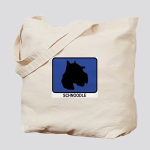 Schnoodle (blue) Tote Bag