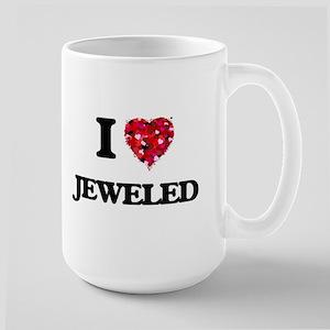 I Love Jeweled Mugs