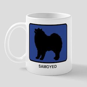 Samoyed (blue) Mug