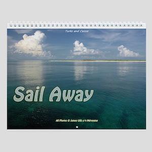 Sail Away Destinations Wall Calendar