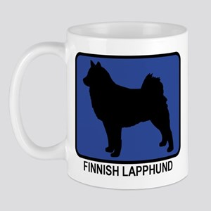 Finnish Lapphund (blue) Mug
