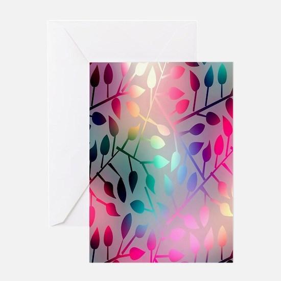 Leaf Rainbow Greeting Cards