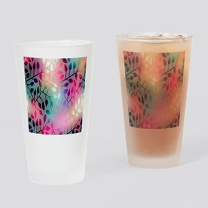 Leaf Rainbow Drinking Glass