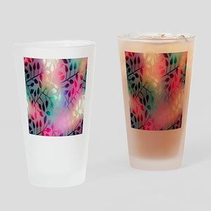 Leaf Rainbow Drinking Glass