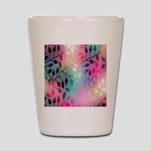 Leaf Rainbow Shot Glass