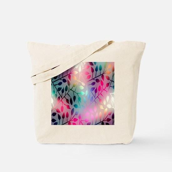 Leaf Rainbow Tote Bag