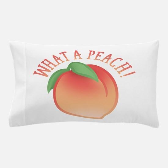 What A Peach Pillow Case