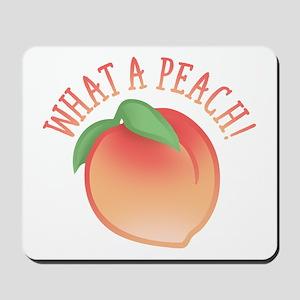 What A Peach Mousepad