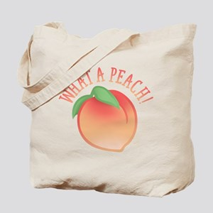 Cute What A Peach Tote Bag