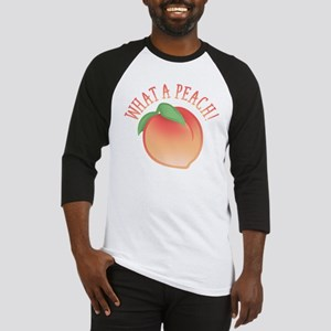 Cute What A Peach Baseball Jersey