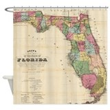 Old florida Shower Curtains