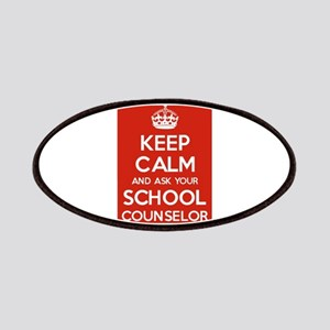 Keep Calm and Ask Your School Counselor Patch
