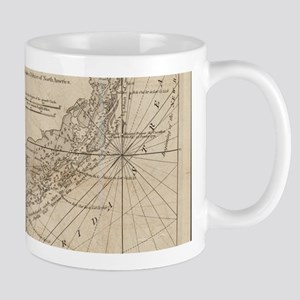 Vintage Map of The Florida Keys (1771) Mugs