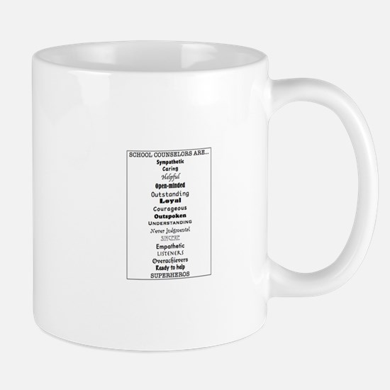 School Counselors Are... Mugs